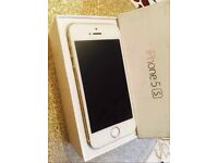 Apple iPhone 5s 16gb white / gold Vodafone Network