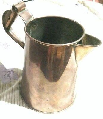 Antique Copper Jug Bullpitt & Sons Birmingham 1913 Mary berry. Bake off