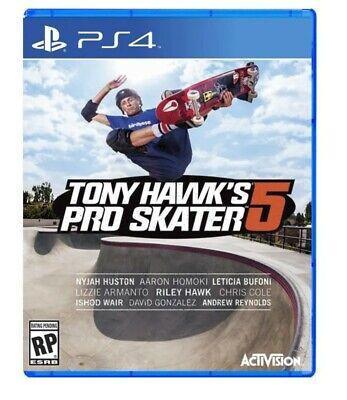 Tony Hawk Po Skater 5 for PS4 BRAND NEW