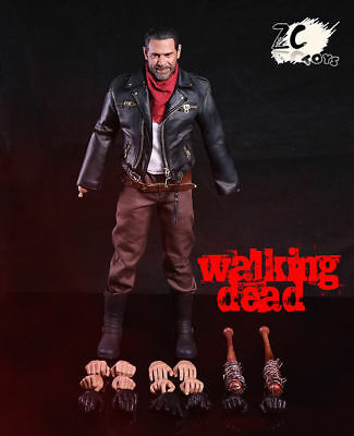 ZC Toys 1/6 The Walking Dead Negan Sixth Scale Figure (Jeffrey Dean Morgan) USA for sale  Shipping to India