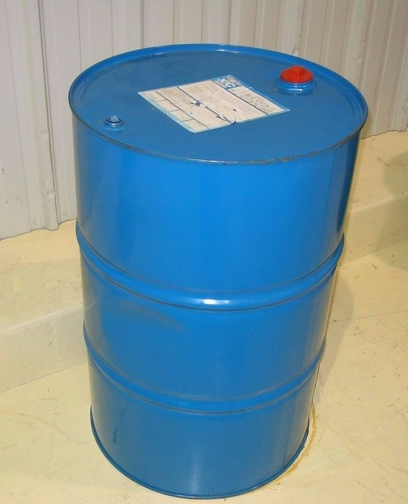 Recycled oil barrel. Very good condition. Contained non toxic natural chemicals not car oil