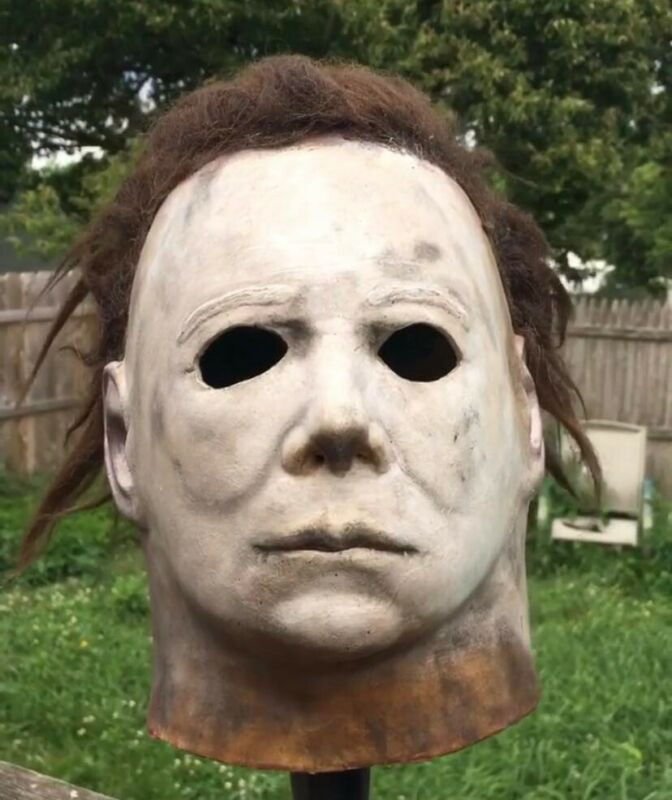 Myers Mask HSS/SCS 75 SHATNER H1 Limited Edition #4 Rehaul HALLOWEEN 2 Converted
