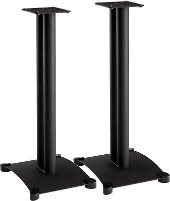 """Sanus SF30-B1 Black Pair 30"""" Speaker Stands"""