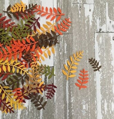 300 Ferns Fall LEAVES PAPER CUT - Fall Cut Outs