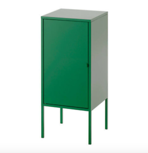 Ikea Greeen Lixhult Cabinet as new in box