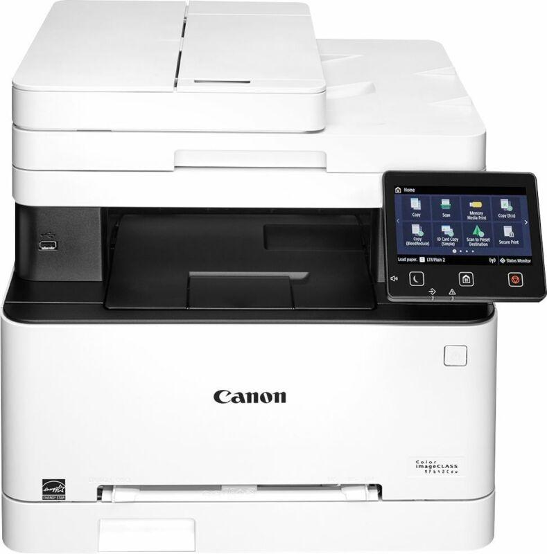 Canon - imageCLASS MF642Cdw Wireless Color All-In-One Laser Printer - White