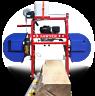 Hud-Son Sawyer Portable Sawmill Bandmill Band Mill Saw Mill bandsaw Cabin Kit