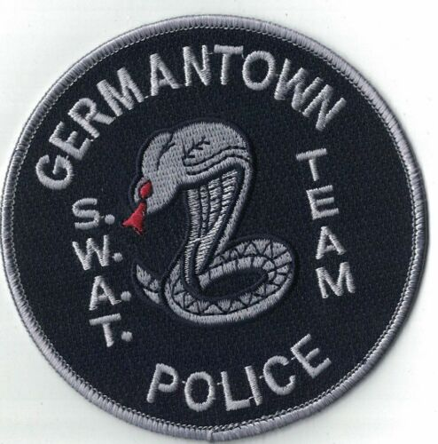 Germantown S.W.A.T. Team Police Tennessee TN patch