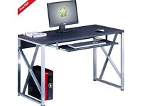 Final reduction!!! Genuine Piranha Beluga Compact Computer Desk w Keyboard Shelf Home Office PC 13g