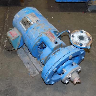 Goulds Pumps Inc. 1.25x1.50-8 Pump 3655s W Marathon 5hp Motor Km182ttdr8924bb W