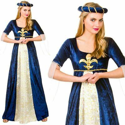 Mittelalterliche Maid Damen Outfit Kostüm Maid Marion Tudor - Mittelalterliche Outfit
