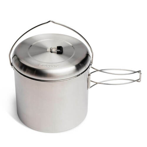 Solo Stove Pot 4000 -  Stainless Steel Companion Pot For Solo Stove Campfire NEW