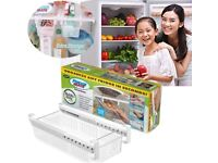 Fridge Mate Refrigerator Drawer To Save Space In Organiser (TWO)