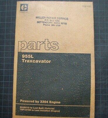 Cat Caterpillar 955l Traxcavator Parts Manual Book 85j Catalog Spare Sebp1053