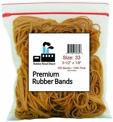 Rubber Band Depot Size 33 3-12 X 18 14 Pound Made In Usa