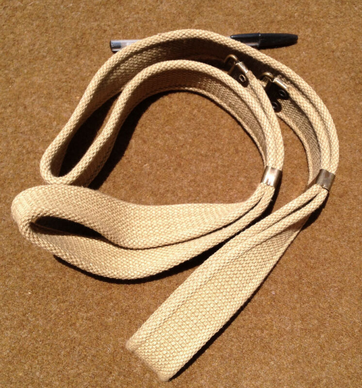 Mills Tropical Web Sling for Trapdoor Springfield and Krag, Haversack or Canteen