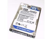 """250GB WD Scorpio Blue 2.5"""" Internal Laptop Hard Drive, SATA II - 3Gb/s, WDC WD2500BEVT"""