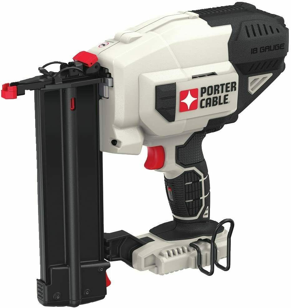 PORTER-CABLE 20V MAX Cordless Brad Nailer, 18GA, Tool Only