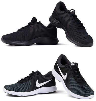 Nike Mens Trainers Shoes Revolution 4 Black
