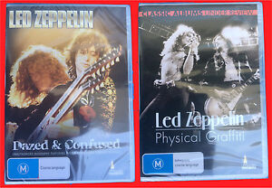 x2 Led Zeppelin DVD's Dazed and Confused & Physical Graffiti -Sealed Pascoe Vale Moreland Area Preview