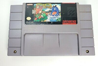 Super Mario World 2: Yoshi's Island SNES TESTEd Super Nintendo Authentic