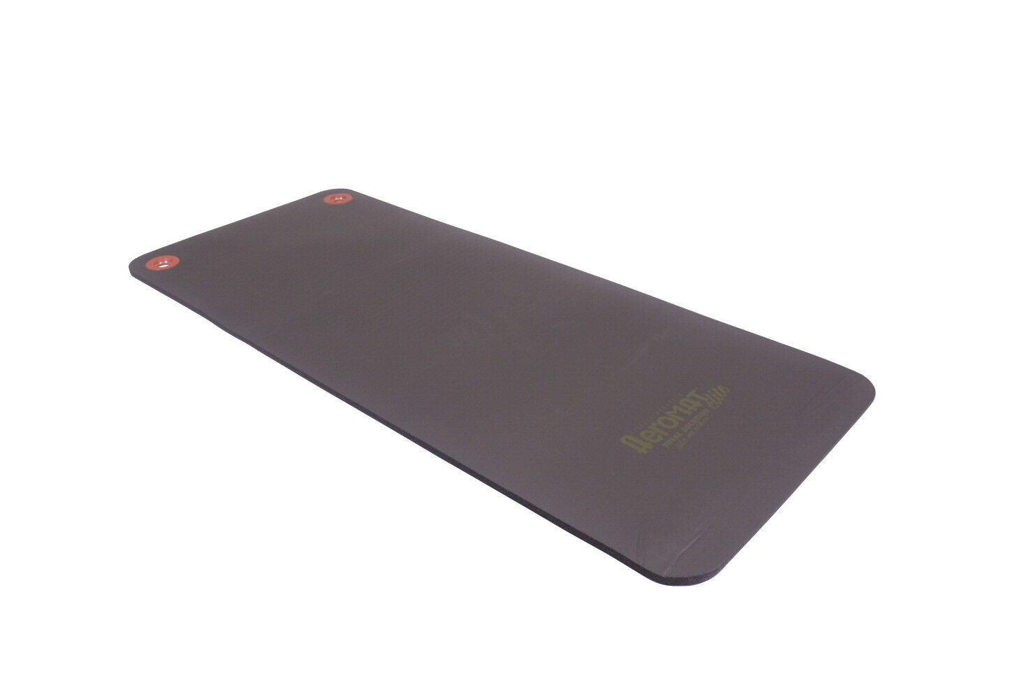 Workout Exercise Floor Mat with Eyelet Phthalate-Free PVC Cl