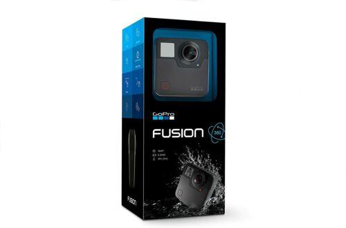 GoPro Camera Fusion - 360 Waterproof Digital VR Camera with Spherical 5.2K HD