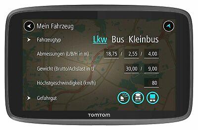 Tomtom Go Profesional 6250 Ue Camión / Camionero GPS Actualizaciones Más Wi-Fi