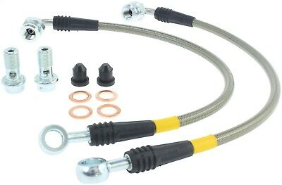 StopTech 950.46504 Stainless Steel Braided Brake Hose Kit Fits 03-06 Lancer
