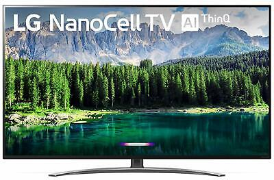 "LG Electronics 55SM8600PUA Nano 8 Series 55"" 4K Ultra HD Smart LED NanoCell TV ("