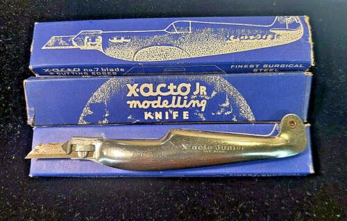 Vintage X-ACTO Jr  Modelling Knife, WW II Plane, NO. 7 with Box, Rare, Free Ship