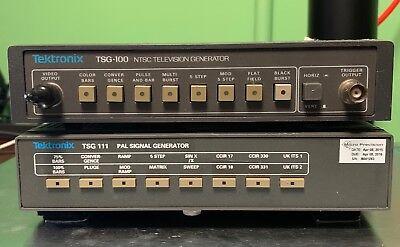 Tektronix Tsg100 Tsg 111 Tv Generator