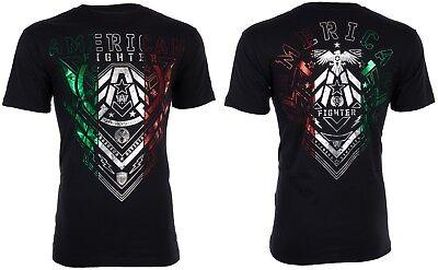 American Fighter Mens S/S T-Shirt KENDLETON Black Mexico Colors S-3XL $40