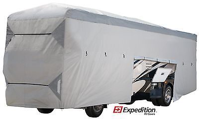 (Class A Expedition RV Trailer Cover Fits 40-42 FT. Extra Tall 135