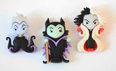 Ursula, Cruella De Vil & Maleficent / Disney Villians /Jesse James ~ Dress It - Disney Cruella De Vil