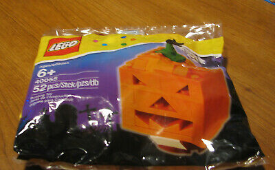 LEGO   POLYBAG  40055  HALLOWEEN  JACK O LANTERN   NEW AND SEALED