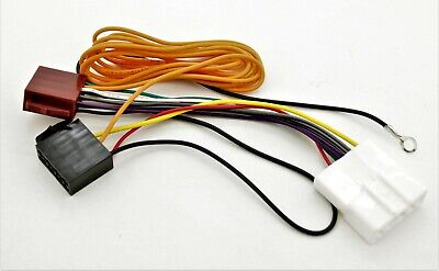 Radio adapter cable for DIN ISO connector wiring harness loom Infiniti Nissan