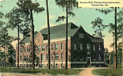 SCIENCE HALL, STATE UNIVESITY, GAINESVILLE, FLORIDA, VINTAGE POSTCARD for sale  Shipping to Canada