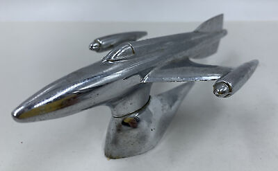 1940s Jewelry Styles and History 1940's-50's Car Hood Ornament Jet Plane Rocket Ship - Lucian Ring Design, Univex $99.00 AT vintagedancer.com