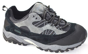 Mens Propet Shoes Eiger Low Hiker Black Taupe Medium & Wide Widths