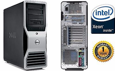 Dell Precision T7500 Workstation 3.46GHz X5677 24GB 120GB SSD Windows 10 hp 64 for sale  Shipping to Canada
