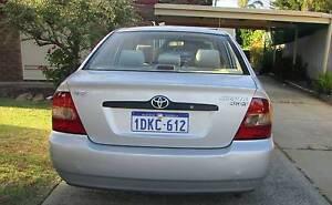 2002 Toyota Corolla Sedan Mirrabooka Stirling Area Preview