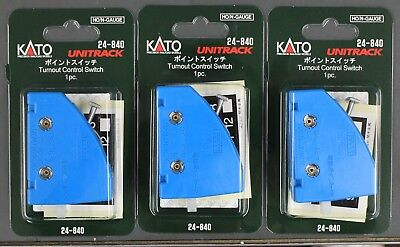LOT of 3 - N Scale - KATO UNITRACK 24-840 Turnout Control Switch - LOT of 3  for sale  Chillicothe