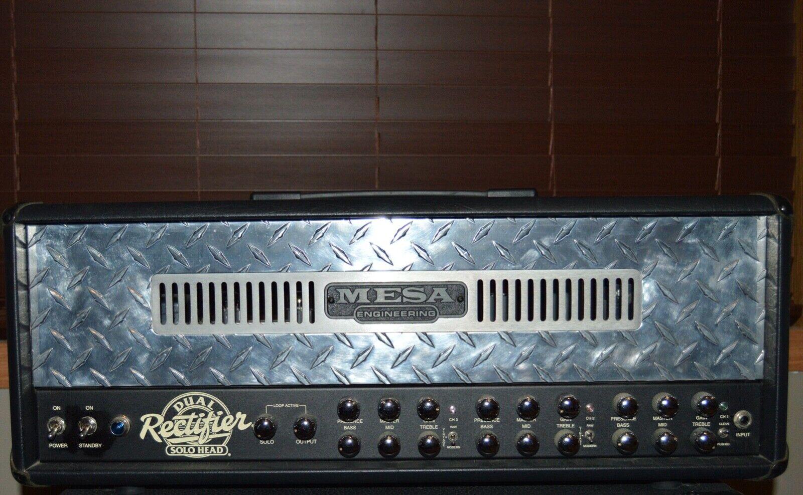 Mesa Boogie Dual Rectifier 3-channel head
