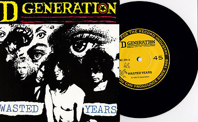 D Generation ‎- Wasted Years 7