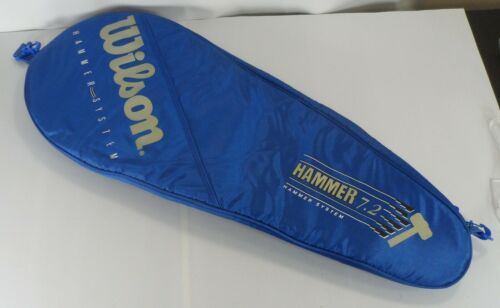 WILSON Hammer system 7.2 Blue Tennis Racquet Cover Case ONLY