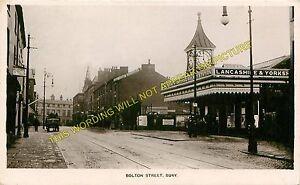 Bury Bolton Street Railway Station Photo. Lancashire & Yorkshire Railway