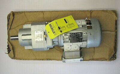 Nord Sk372.1-80lp4 Cus Tw 1hp 231 Gear Reducer - 1hp Inverter Duty Motor