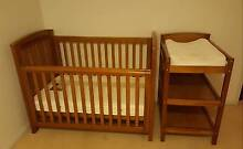 Bebe Care Coventry Cot and Change table Foresthome Hinchinbrook Area Preview