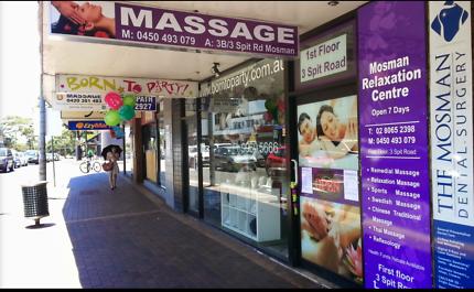 Mosman Massage Shop Business SALE URGENT